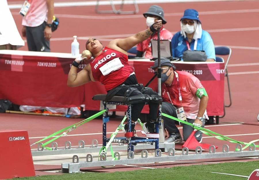 Gloria Zarza logra primera plata para México en Paralímpicos de Tokio 2020