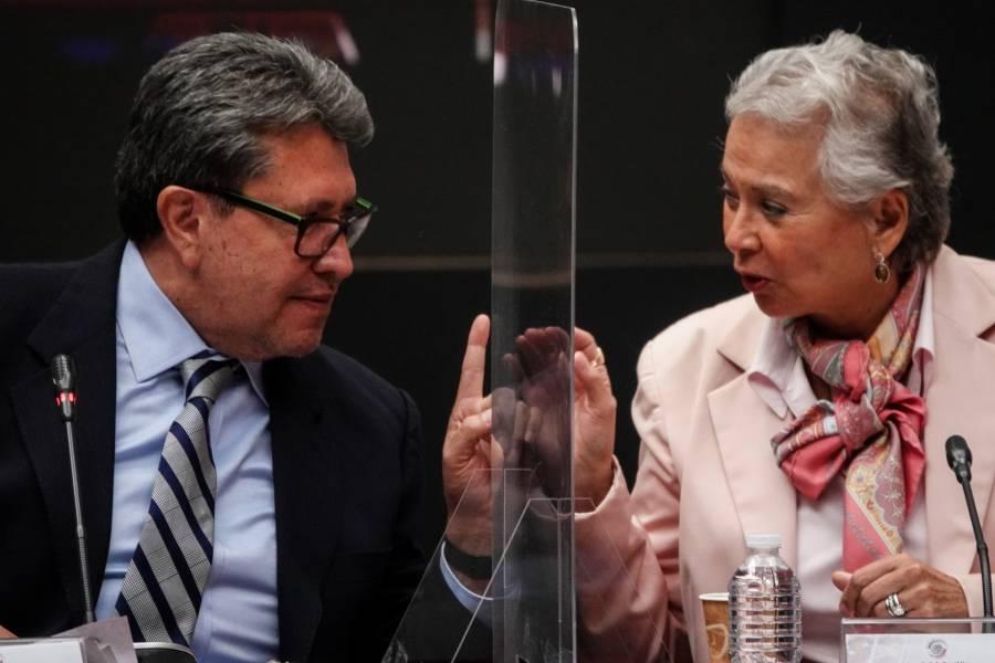 Mayoría de senadores de Morena rechaza cambiar pregunta de revocación: Monreal