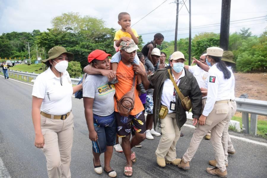 México no puede permitir libre tránsito de migrantes indocumentados: Encinas