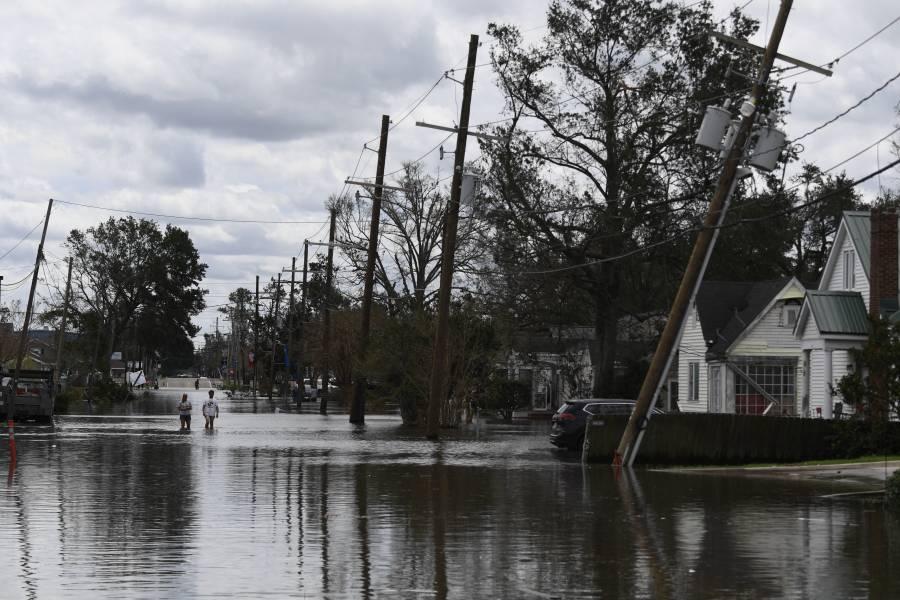 """""""Ida"""" se degradó a tormenta tropical; dejó una persona fallecida en Lousiana"""