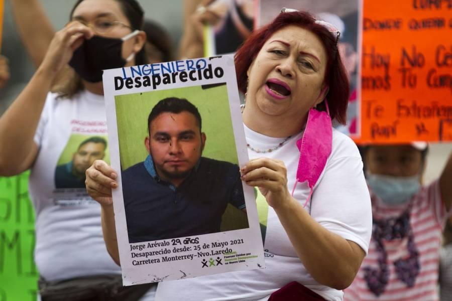 "ONU-DH urge a México garantizar la búsqueda ""efectiva"" de desaparecidos"