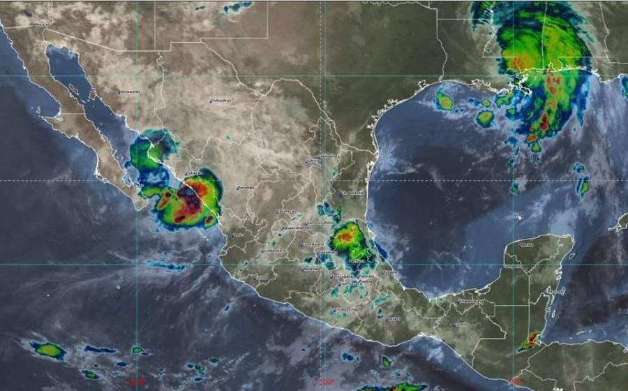 Nora se degrada a baja presión remanente; persistirán lluvias torrenciales en Sinaloa