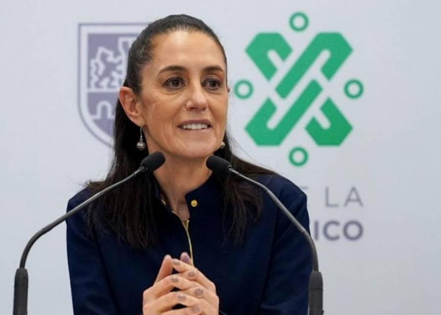 """""""No hay bloqueo, pero sí operativo por festejos"""", responde Claudia Sheinbaum a alcaldes electos"""