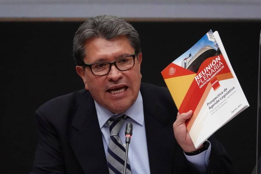 Desmiente Monreal que sea mediador con la CNTE