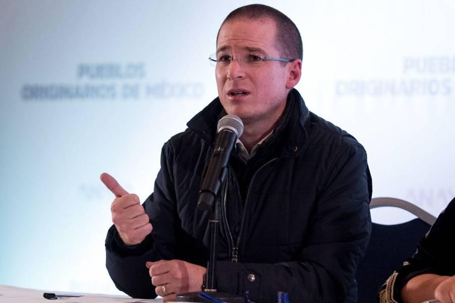 ¿A qué le temes AMLO?: Ricardo Anaya denuncia que FGR le impide acceder a carpeta en su contra