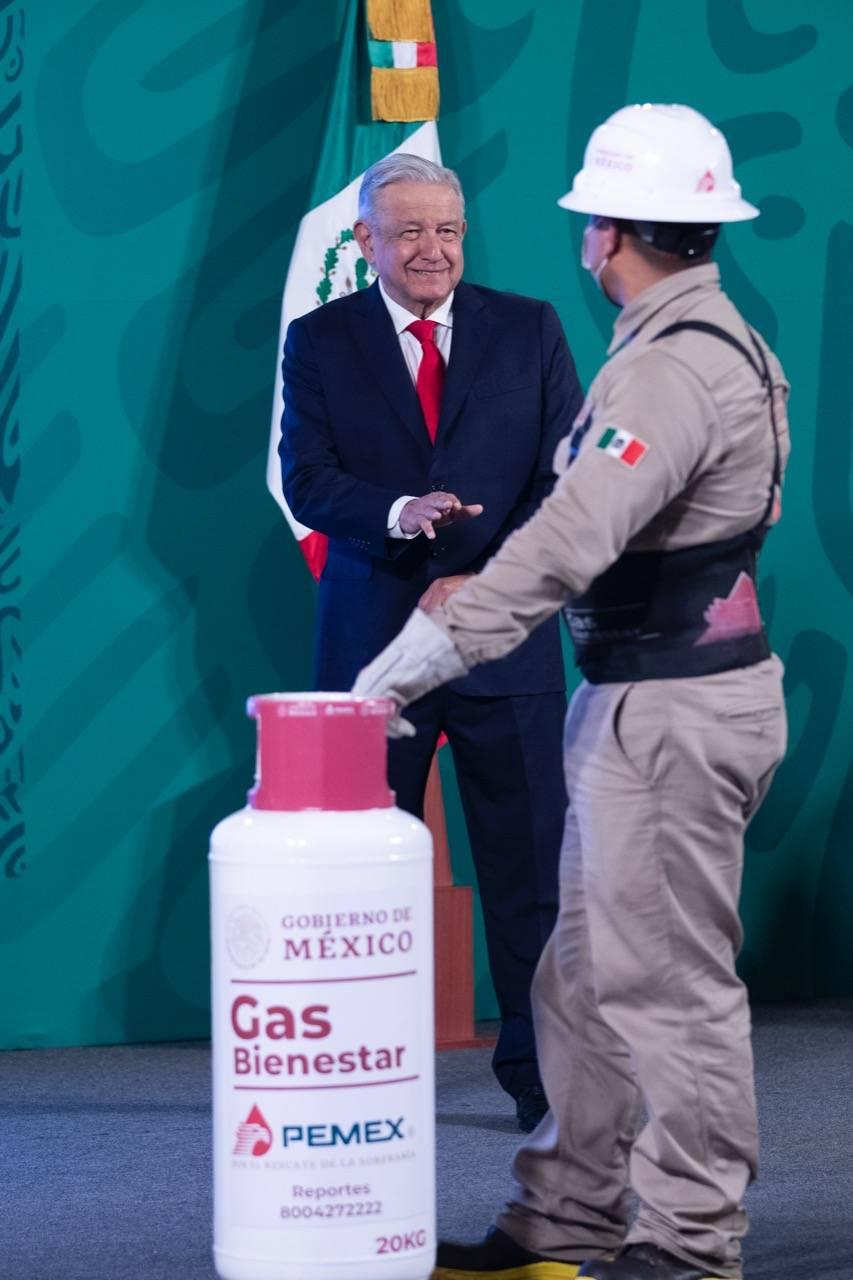 AMLO da banderazo de salida al Gas Bienestar