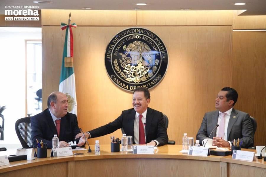 Mier Velazco anuncia alianza con diputados del PRI para la aprobación de reformas