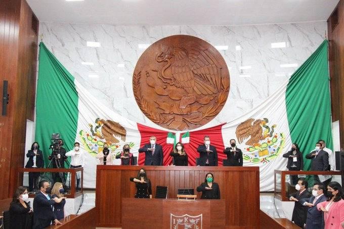 En Tlaxcala, Claudia Sheinbaum asiste a toma de protesta de la gobernadora de Lorena Cuellar