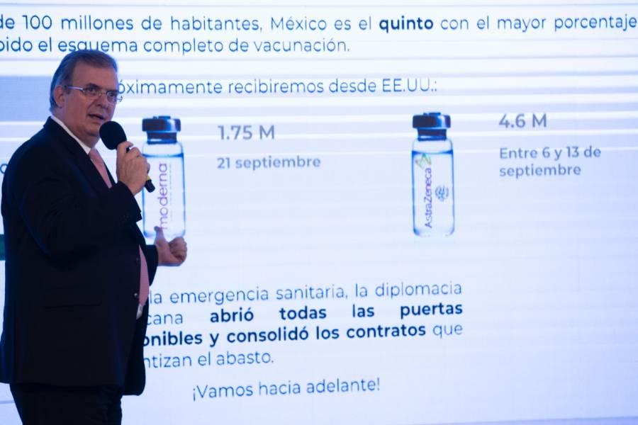 Ebrard asegura que aprobación de vacuna cubana contra Covid-19 será pronto