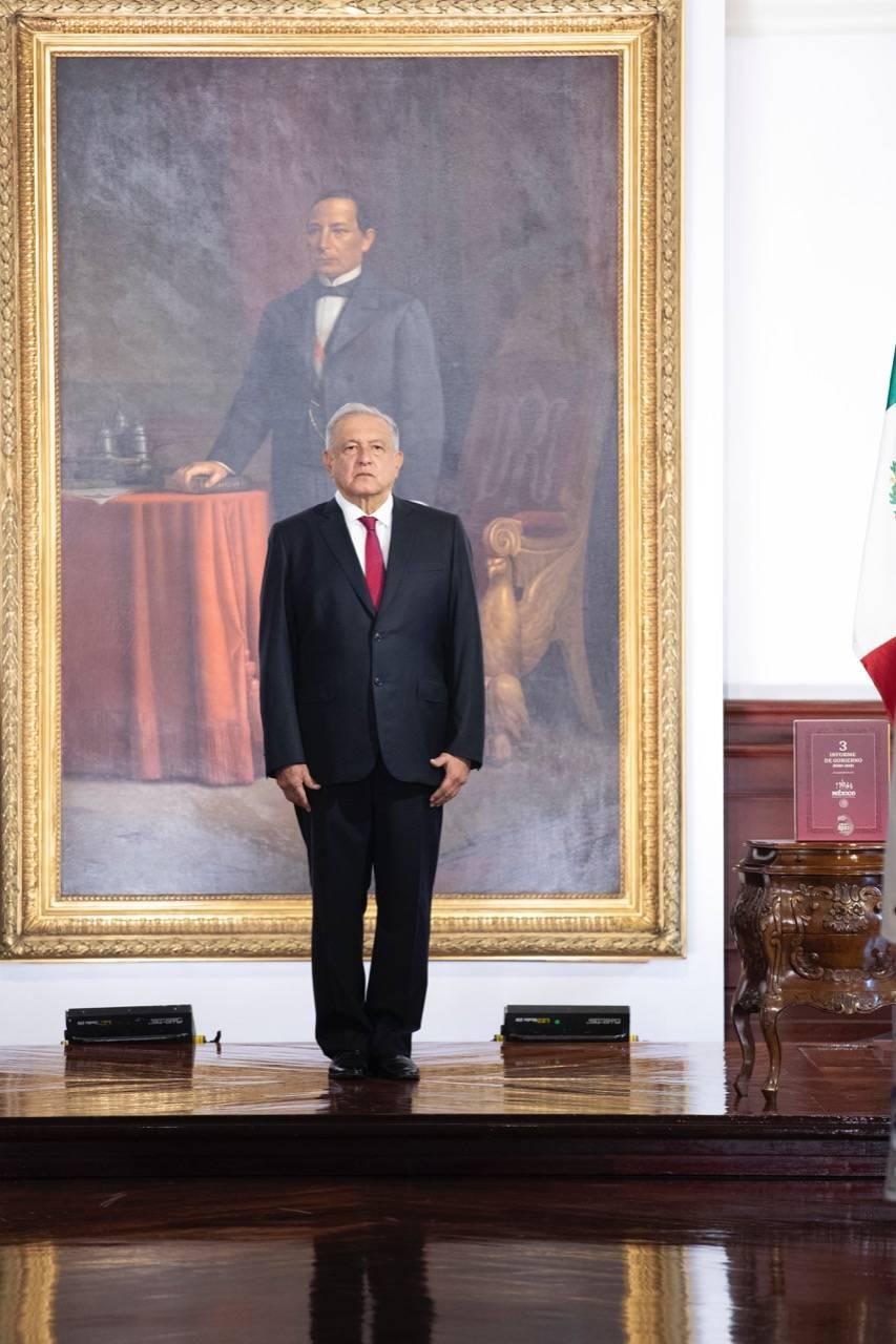 """""""Podría dejar ahora mismo la Presidencia sin sentirme mal con mi conciencia"""": AMLO"""