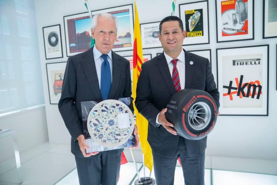 Anuncia Pirelli nueva inversión en su planta en Guanajuato