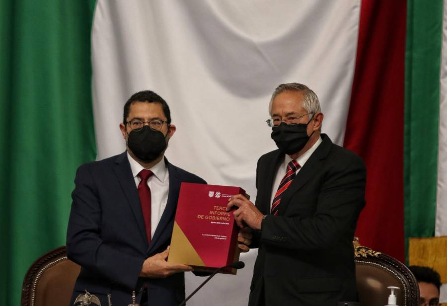 Martí Batres entrega Tercer Informe de Gobierno de Sheinbaum al Congreso de la CDMX