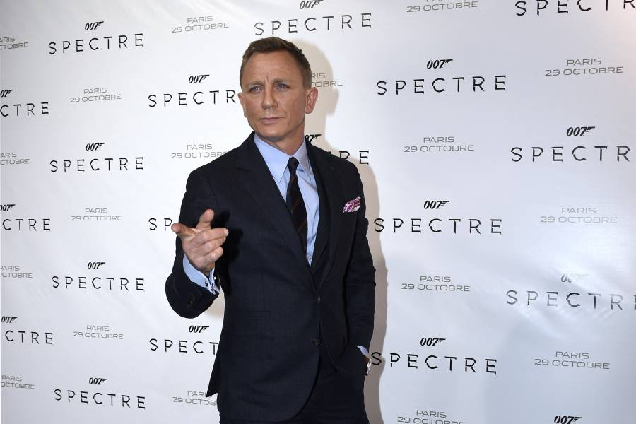 Lanzan tráiler de la nueva película de James Bond, Agente 007