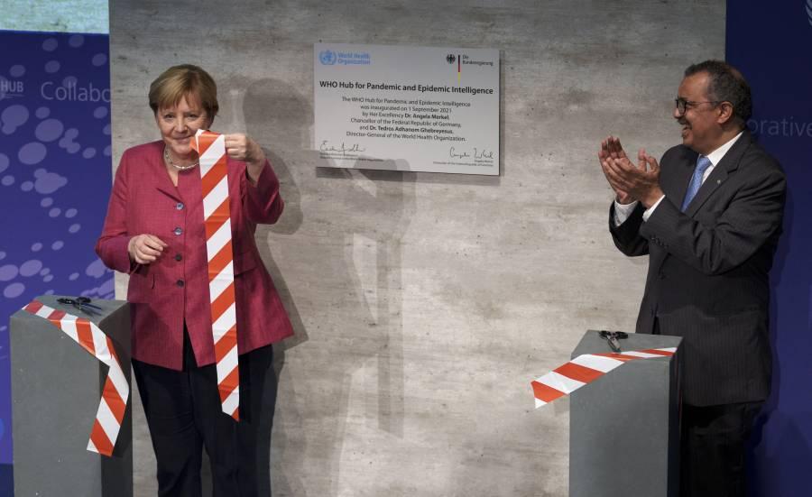 OMS inaugura en Berlín, centro de investigación y detección de epidemias