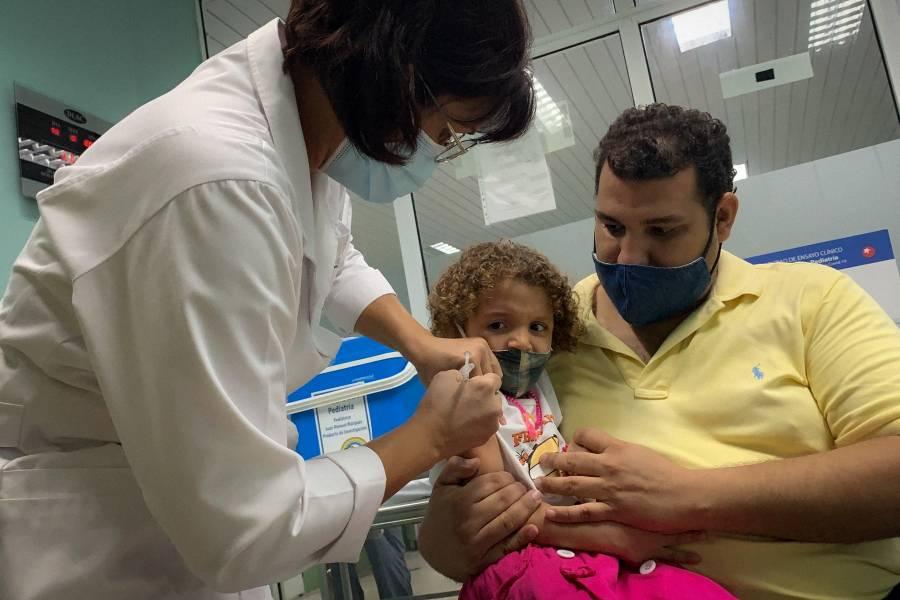 Cuba comenzará a vacunar este viernes contra Covid-19 a menores de edad