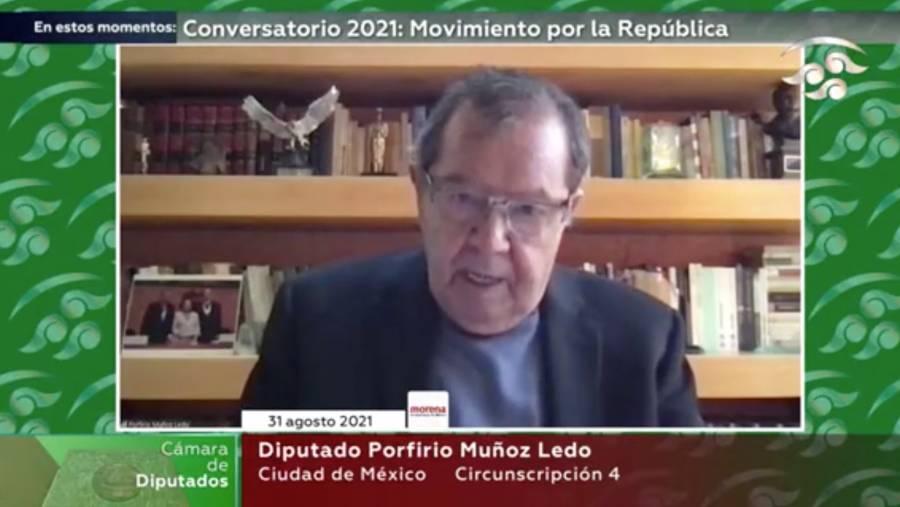 Regresión democrática, concentrar el poder en una persona: Muñoz Ledo