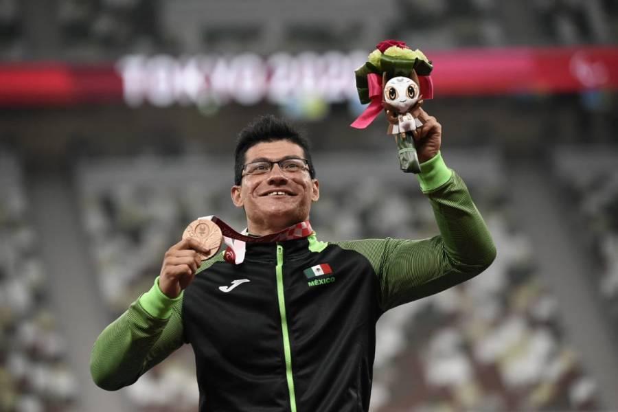 Juan Pablo Cervantes gana medalla de bronce para México en Paralímpicos