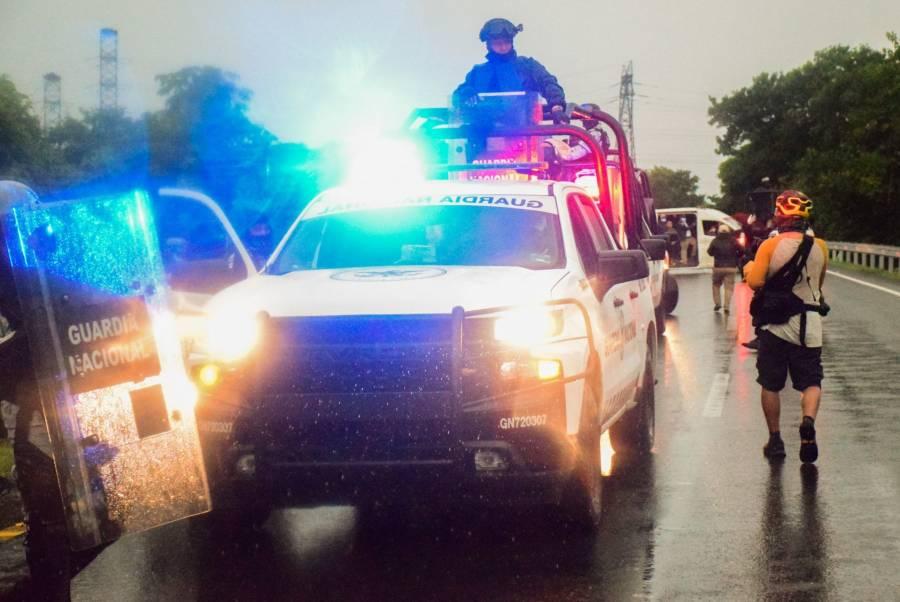 En Chiapas detienen a unos 70 migrantes en operativo