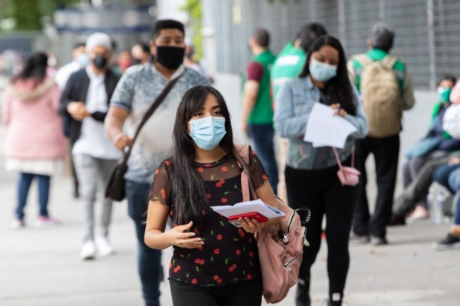 México presentó otra jornada que superó los 15 mil contagios