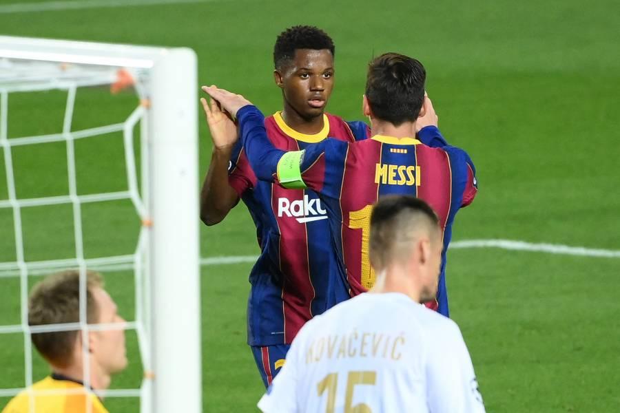 El delantero Ansu Fati será quien porte el 10 de Messi en el Barcelona