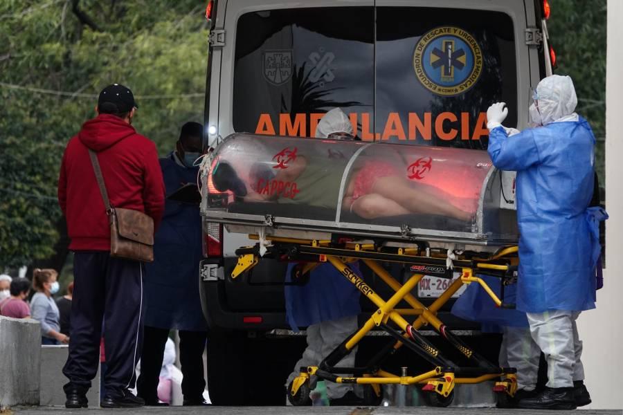 OPS alerta aumento de mortalidad por Covid en México