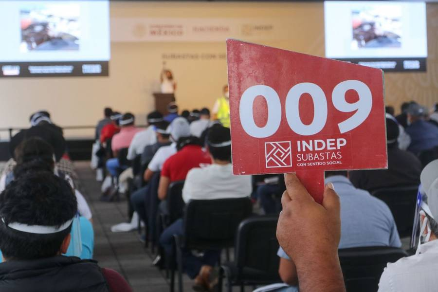 Indep recibe más de 2 mil mdp que la FGR incautó al crimen organizado