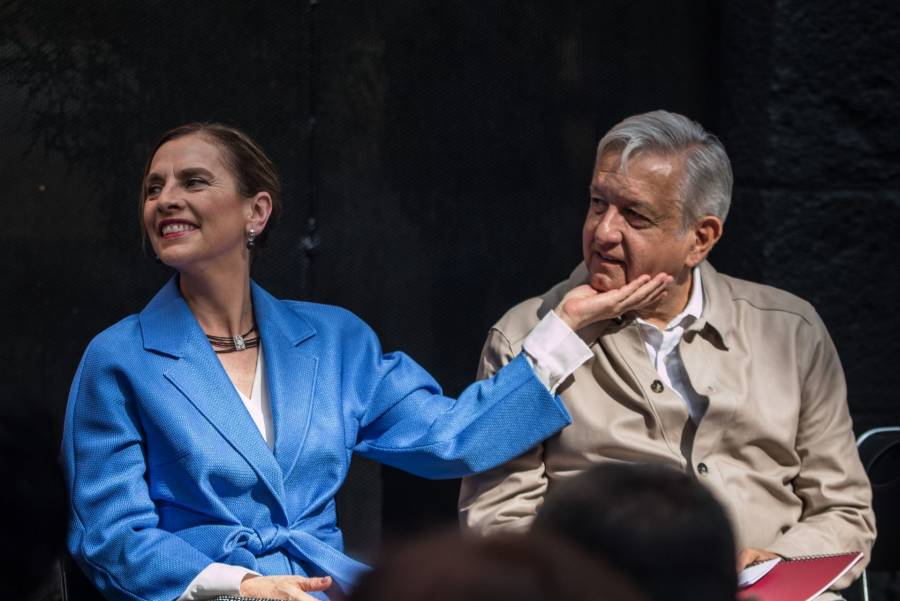 En la BUAP, Beatriz Gutiérrez no apoyará a ningún candidato a rector