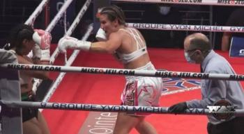 Boxeadora Pier Houle: La intención de herir gravemente a un oponente nunca está en mis planes