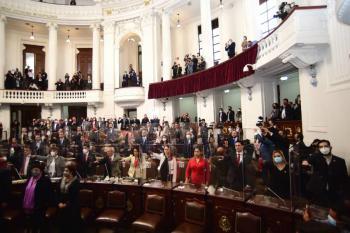 Inicia II Legislatura local con llamado a evitar la polarización