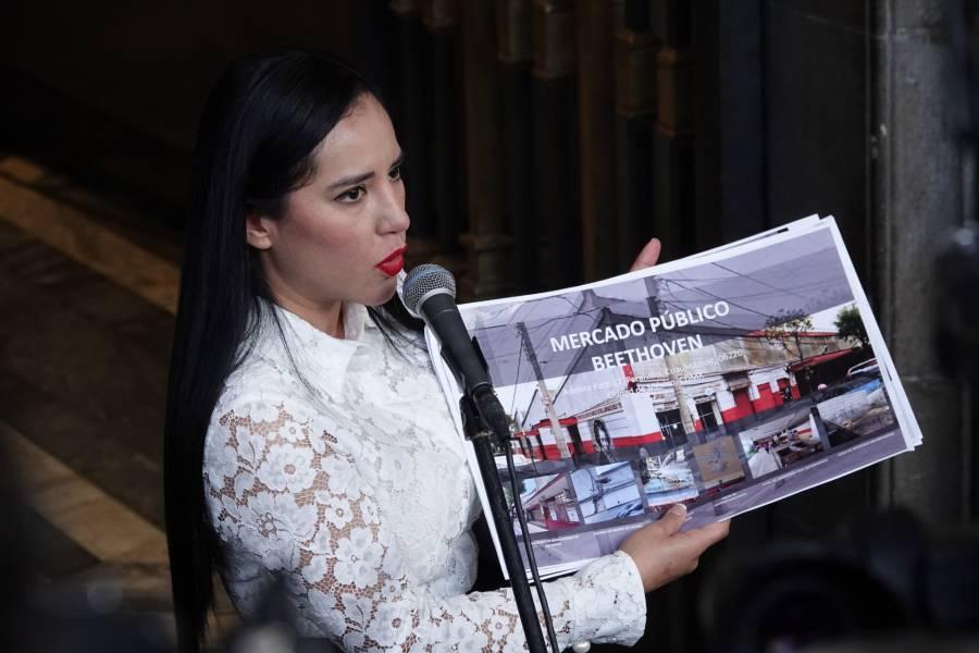 Sandra Cuevas acuerda con Claudia Sheinbaum la modernización de los 39 mercados públicos de Cuauhtémoc