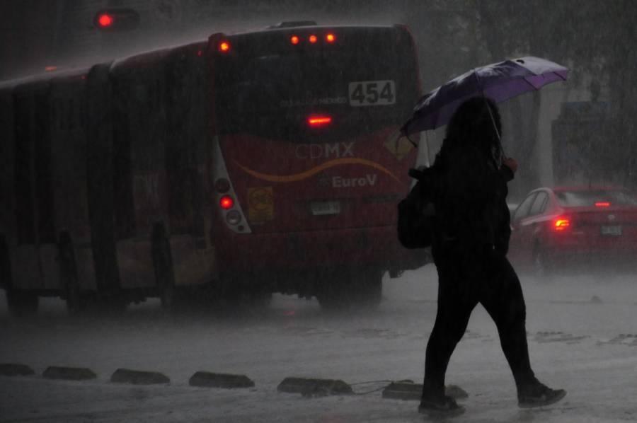 En 7 alcaldías de la CDMX, activan alerta amarilla por lluvias y granizo