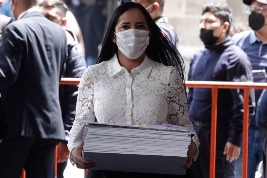 Sandra Cuevas pacta mesas de trabajo semanales con el gobierno capitalino