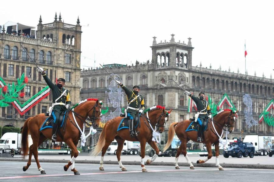 Personal de la Sedena ya está listo para el desfile militar de la Independencia de México