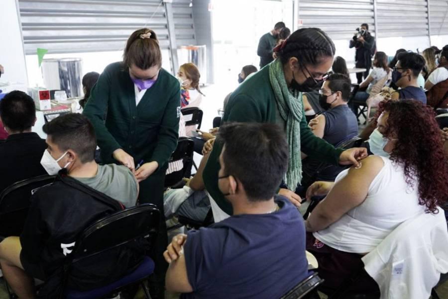 CDMX: En 6 alcaldías aplicarán segunda dosis contra Covid-19 a personas de 40 a 49