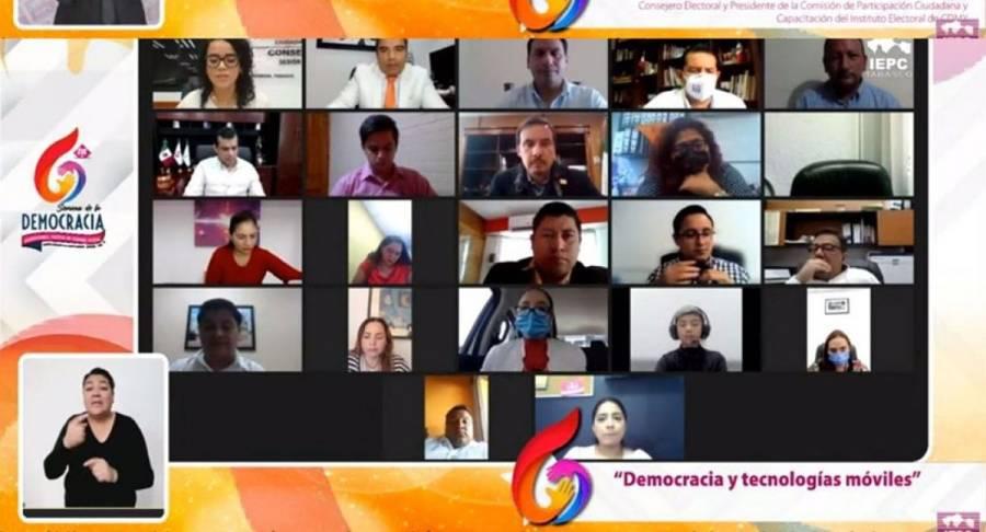 Tecnologías incentivan participación político-electoral de los jóvenes: IECM