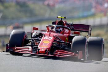 Ferrari sorprende en los libres en GP de Países Bajos; Lewis Hamilton sufre avería