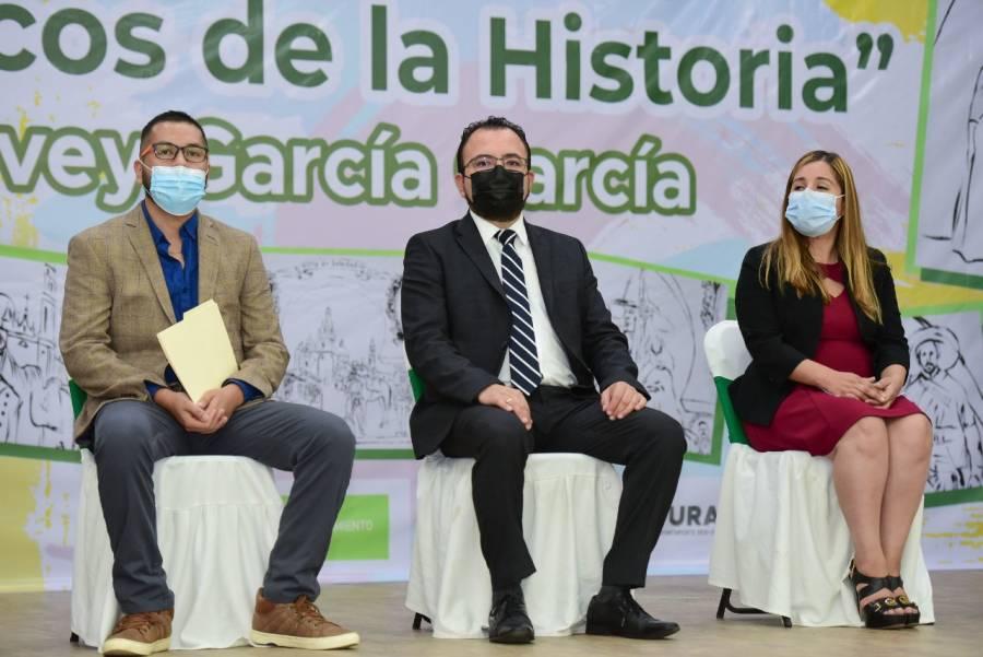"""Inauguran en Soledad, mural de """"Los Arcos de la Historia"""""""