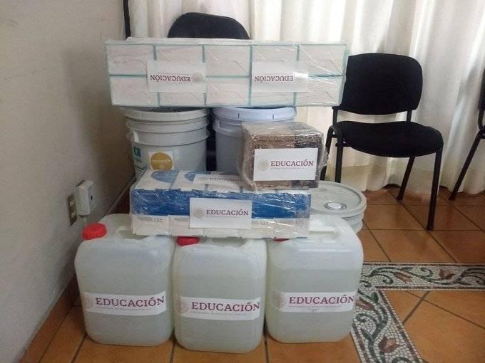 Enrique Alfaro se mofa de la ayuda que mandó el Gobierno para el regreso a clases