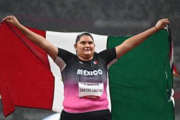 Rosa Castro gana bronce en el lanzamiento de disco en Juegos Paralímpicos de Tokio 2020
