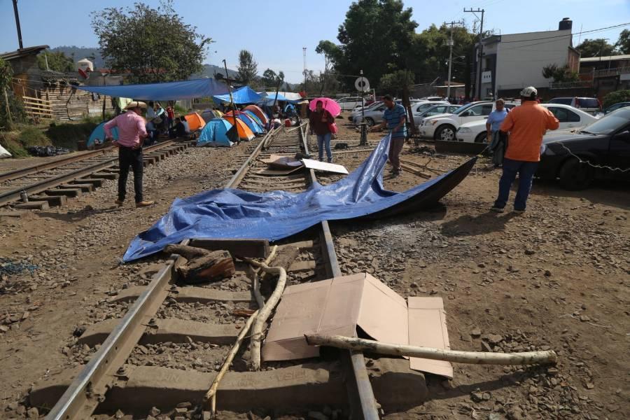 Insiste IP en desbloqueo de vías de ferrocarril en Michoacán