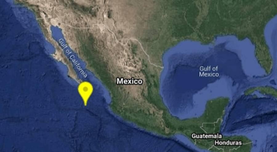 Reportan sismos en Baja California Sur y Guanajuato