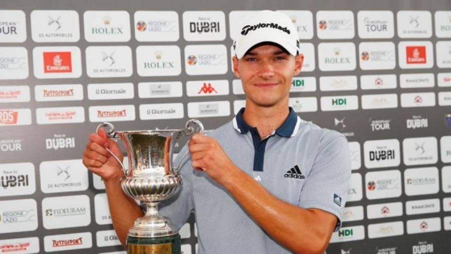 Nicolai Hojgaard gana el Abierto de Italia de golf