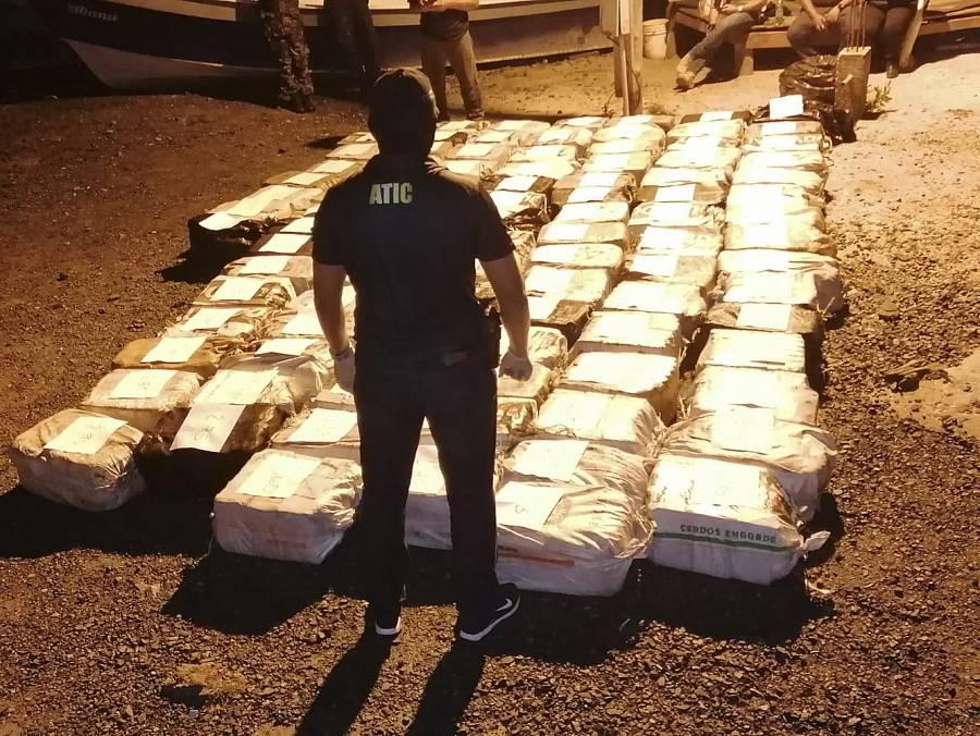 Encuentran una tonelada de cocaína en plantaciones de Guatemala