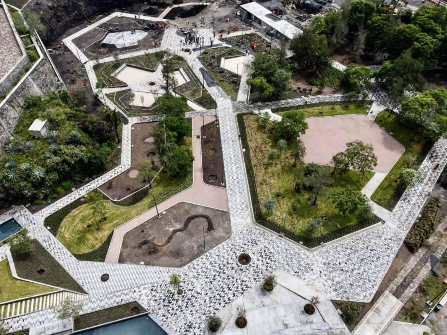 Inauguran segunda etapa de parque Cantera en Coyoacán