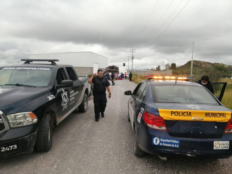 Gracias a los recorridos de sobrevigilancia se logra la recuperación de una camioneta robada en Soledad