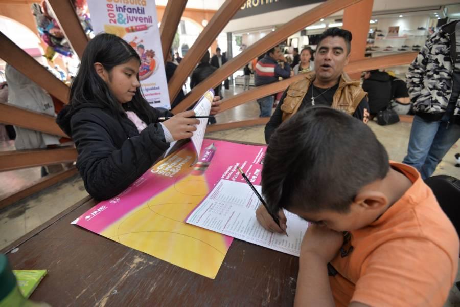 Todo noviembre se llevará a cabo la consulta infantil y juvenil: INE