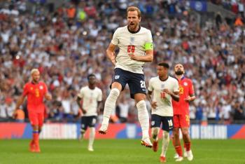 Inglaterra golea a Andorra y sigue su camino perfecto hacia Qatar 2022