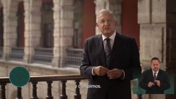 AMLO anuncia que supervisó obras del Tren Maya; presume logros en seguridad