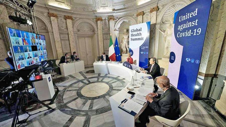 El G20 se compromete a vacunar contra Covid a 40% de la población mundial en 2021