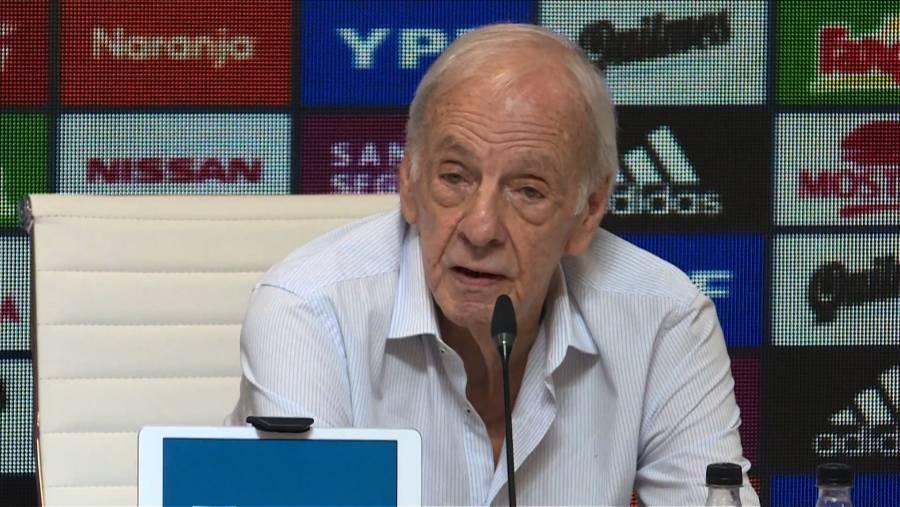 Cuestiones políticas suspendieron el Brasil vs Argentina, asegura Menotti